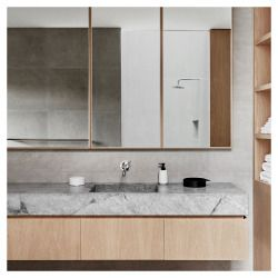 Bathroom cabinetry , finishes