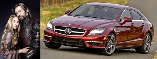 Lannister Twins Cls Class Mercedes Benz Cls Mercedes Benz Mercedes