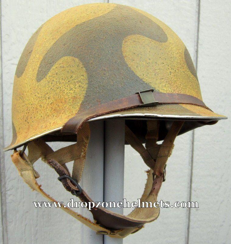 Pin On Wwii M2 Dbale Airborne Helmet Pathfinder Paratrooper Liner