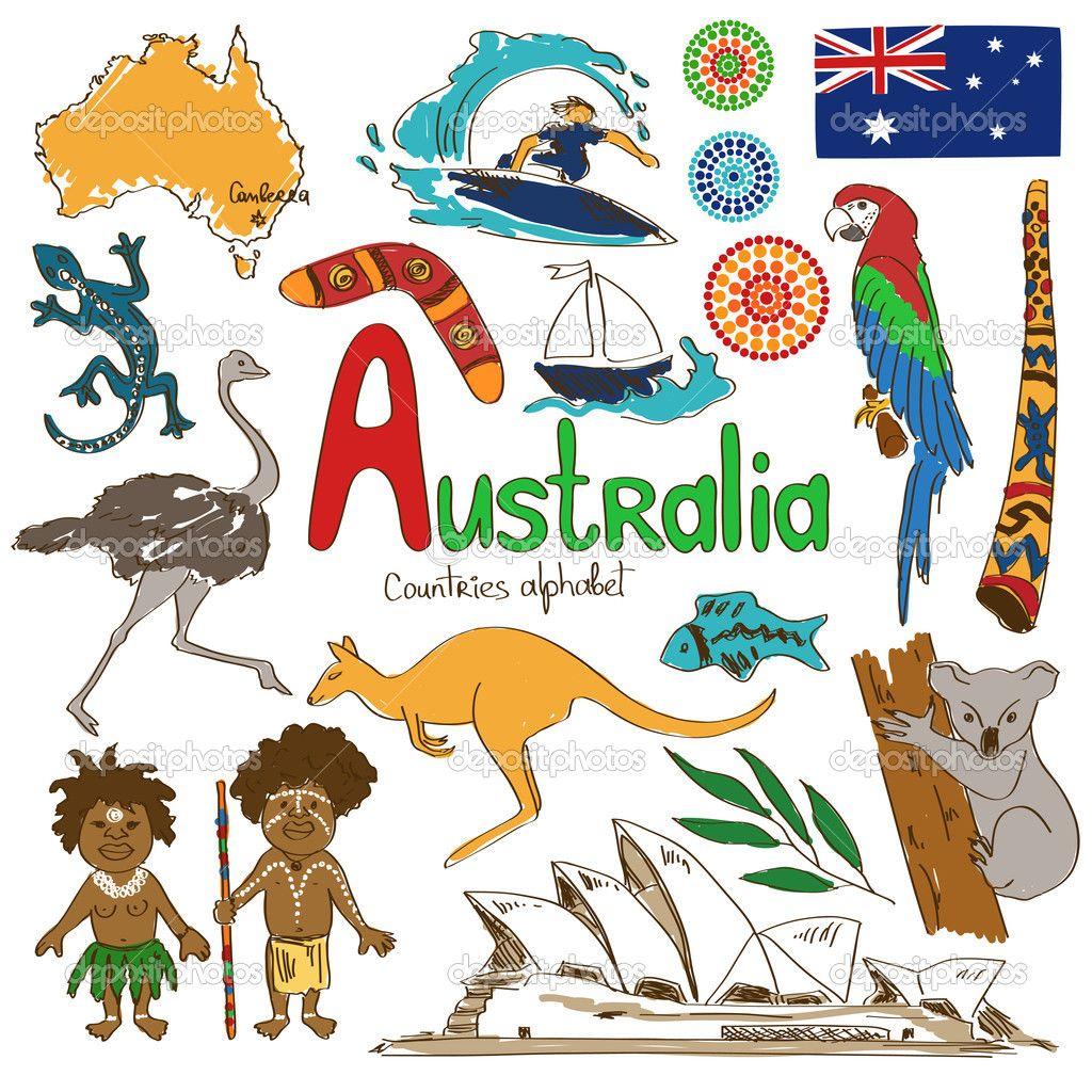 Symbols Of Australia Google Search Summer Camp Pinterest