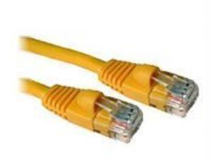 Ziotek CAT5e Enhanced Patch Cable W// Boot 100ft Yellow