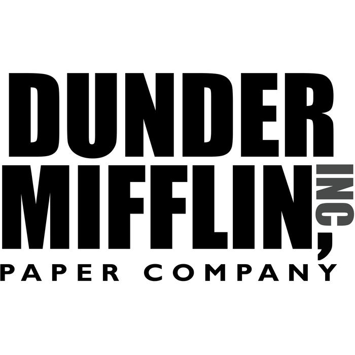 The Dunder Office Mifflin Inc Design T Shirt Tshirt Tee Jersey Poster Original Funny Gift King Size Pil In 2020 The Office Stickers The Office The Office Shirts
