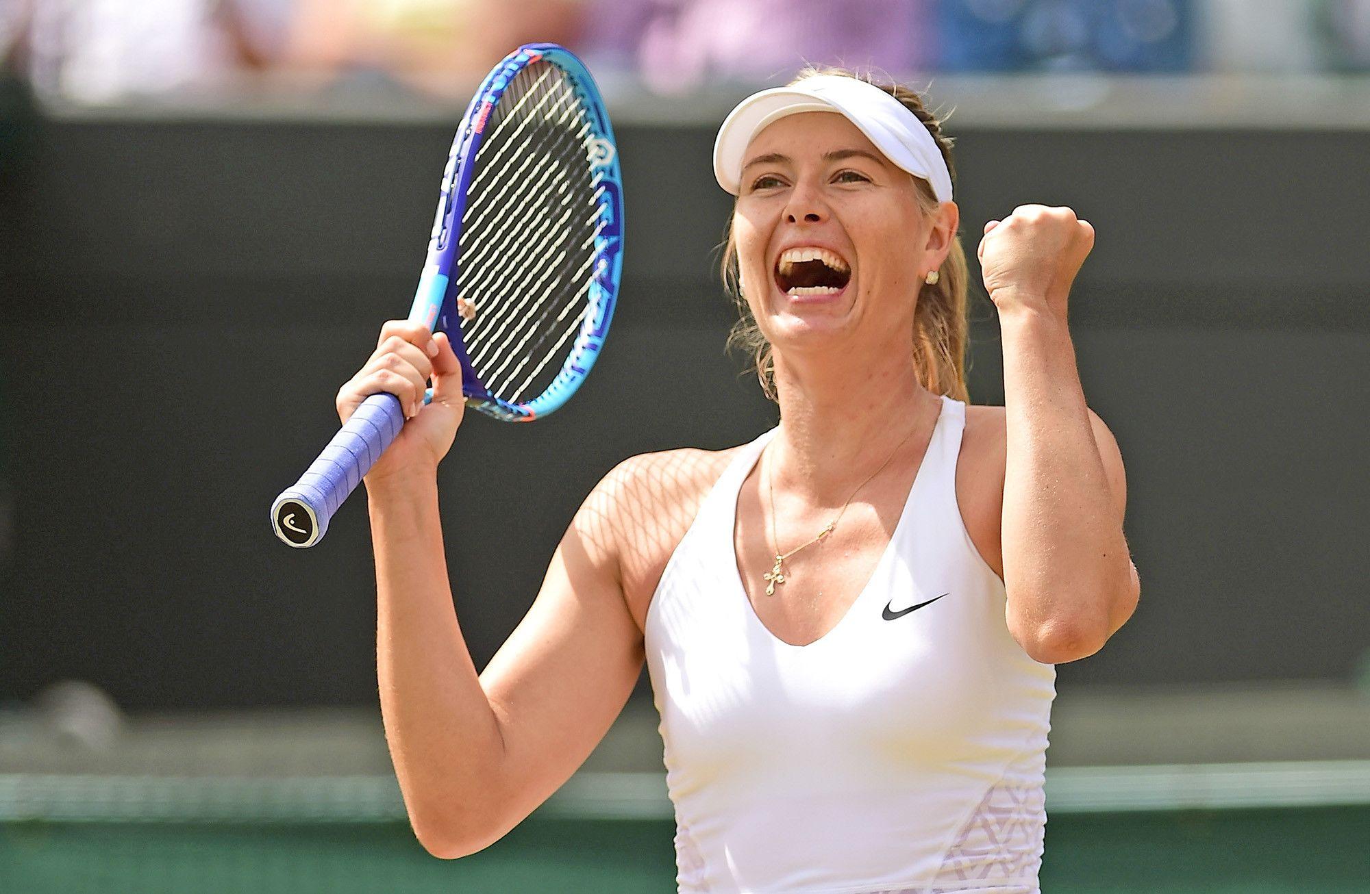Sweaty Maria Sharapova : HottestFemaleAthletes