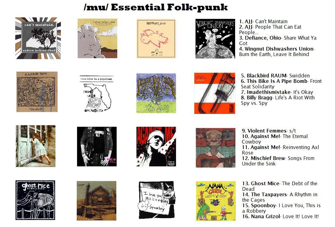Folk Punk Folk Punk Rock Music