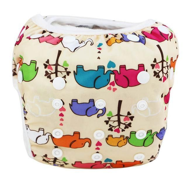 66255b57d5 Infant swimming trunk/swim diaper swimsuit boy swim diapers/newborn baby  girl swimwear 0