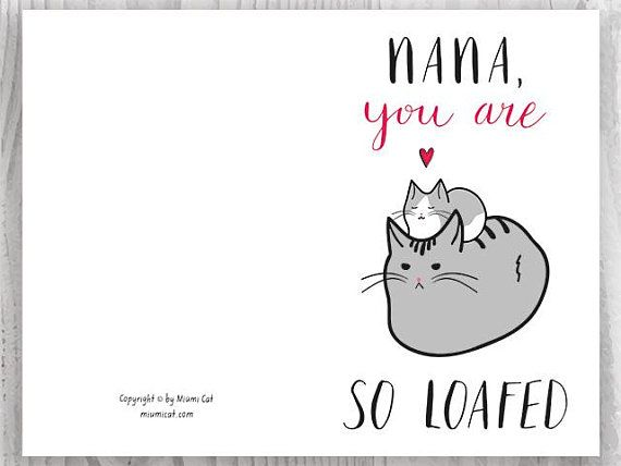 image regarding Printable Cats identify Printable Playing cards Moms Working day, Moms Working day Card Exclusive, Cat