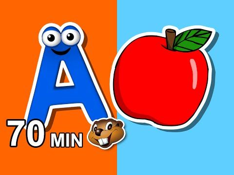 Alphabet Phonics Songs More Busy Beavers 70 Min Kids Compilation Baby Learning Kindergarten Phonics Song Alphabet Phonics Learning Websites For Kids