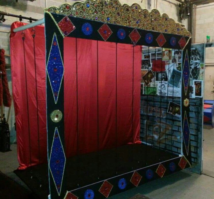 DIY Circus Tiger Cage   Theater Stage Prop   Wood base ...