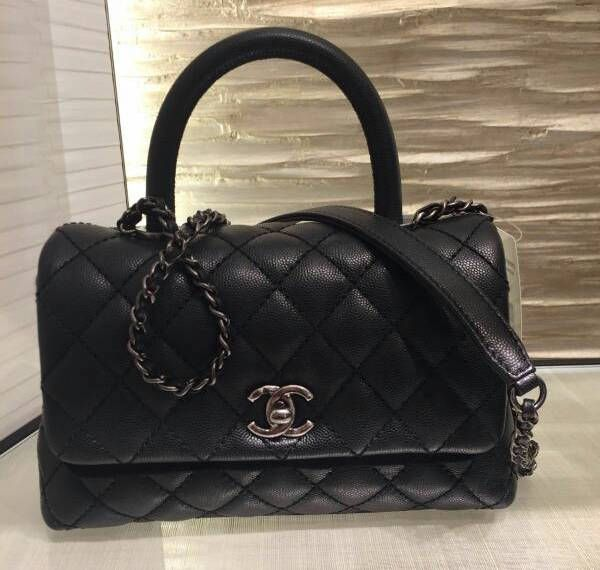 b03c86adbfe6 Chanel Black Coco Handle Mini Bag 2
