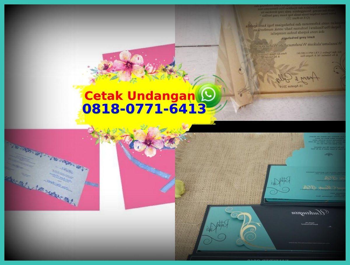 Kartu Undangan Pernikahan Bali