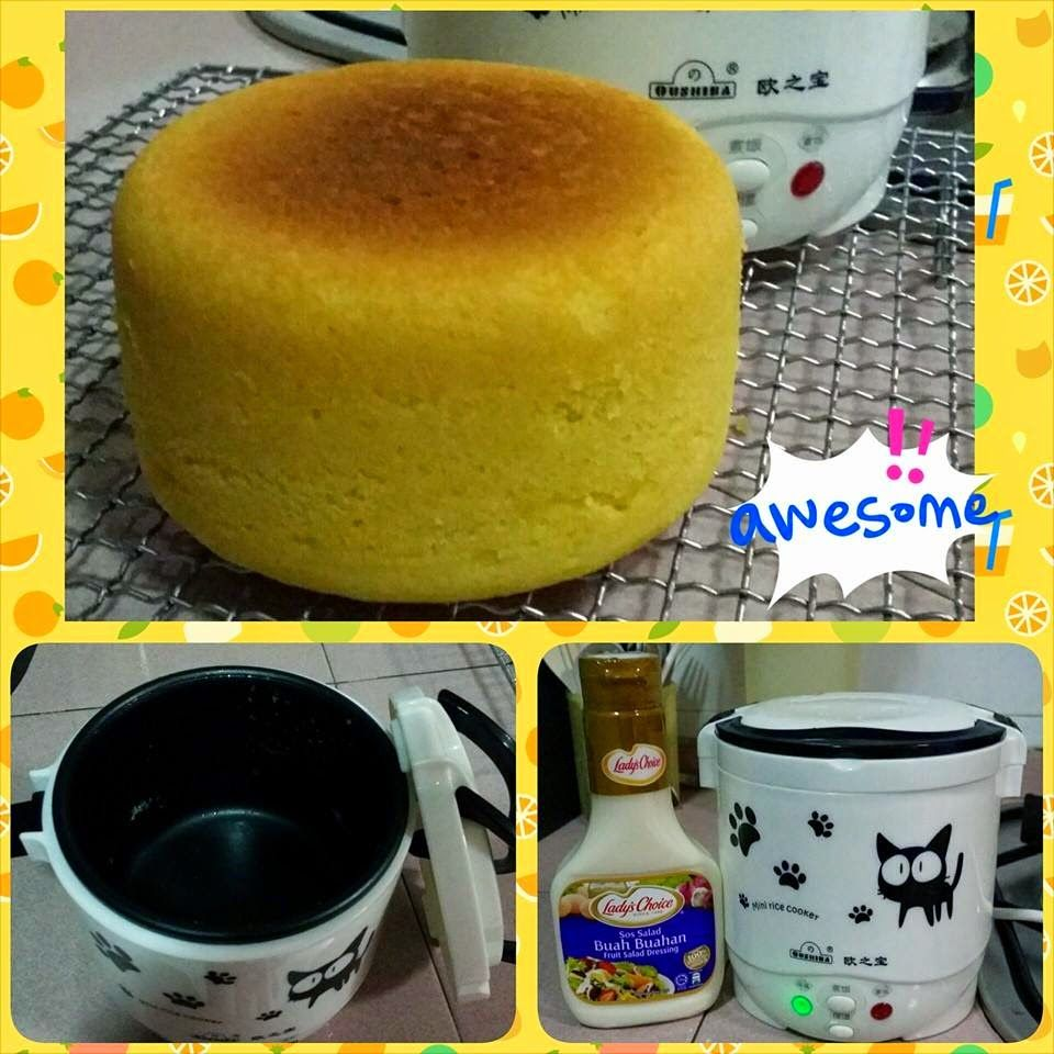 Singapore Home Cooks: Mini Rice Cooker ~ Orange Butter Cake By Katherine