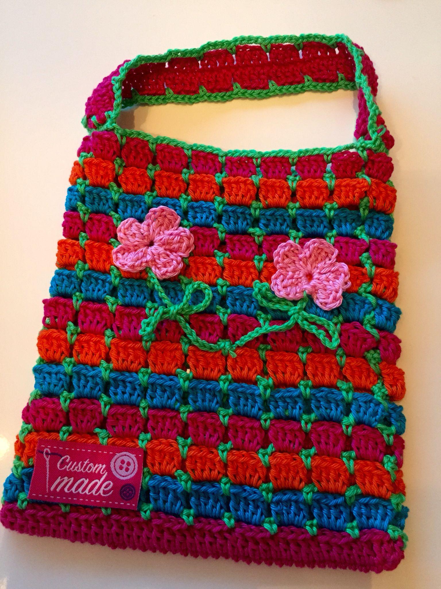 Superschattig Tasje Voor Lief Klein Buurmeisje Haken Crochet