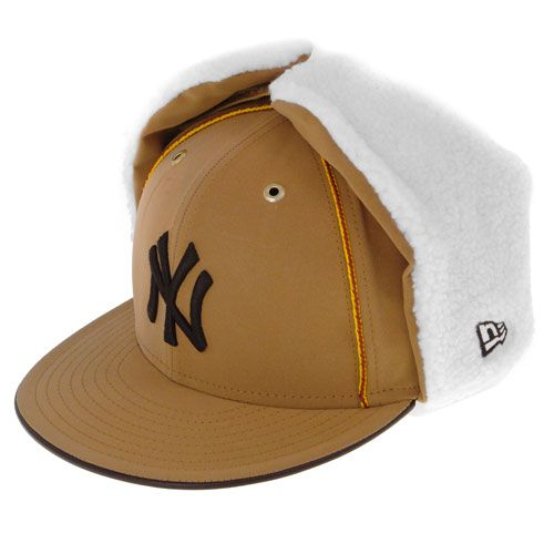 Dog ear cap NEW ERA - DABU NY YANKEES 59 FIFTY WHEAT  cap  new era  mlb   yankees a5e16108177