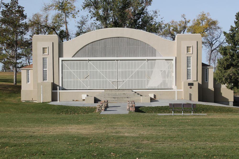 The Bandshell At Washington Park Casper Wyoming Washington