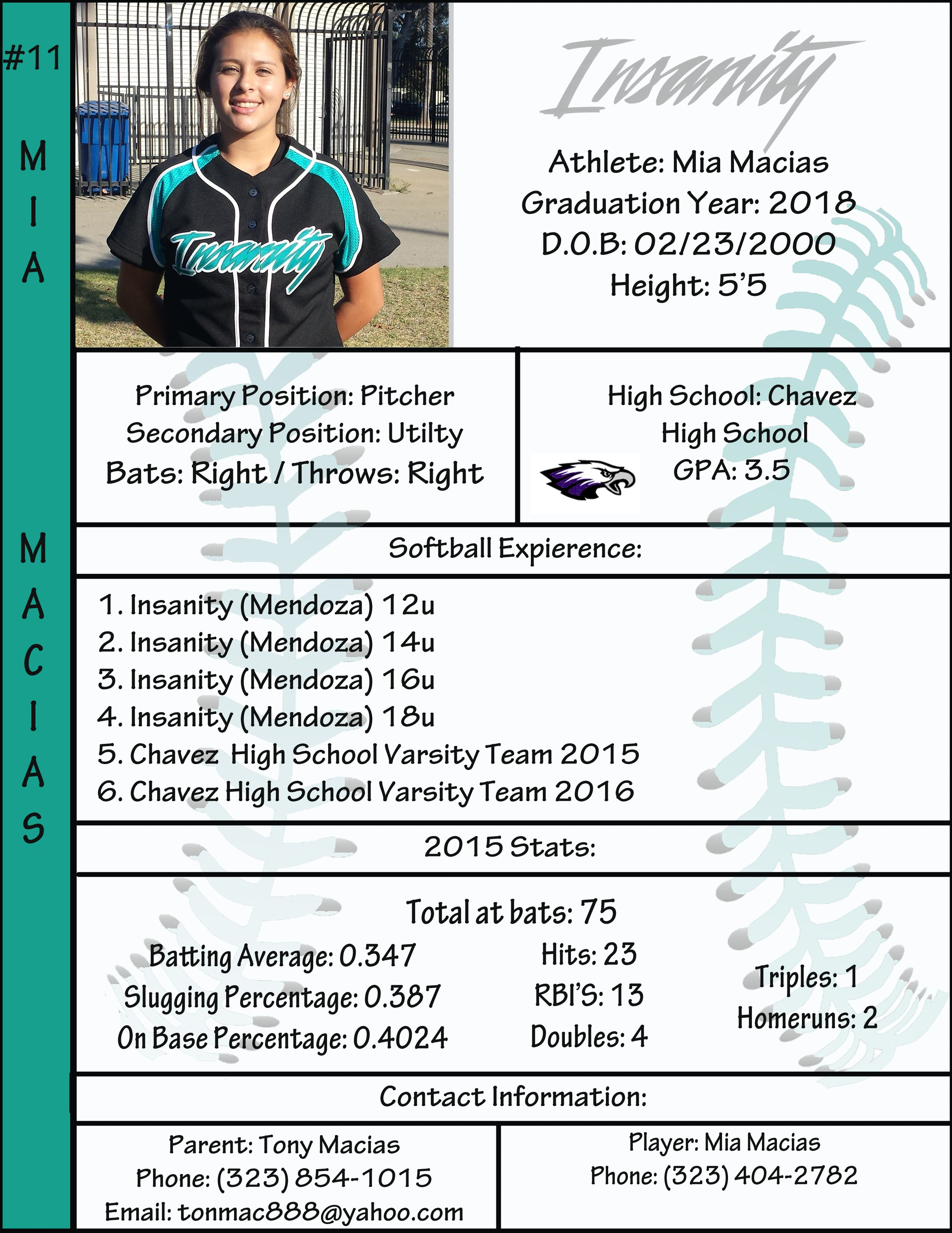 Soccer Referee Resume Profile Softball In 2018 Pinterest Softball