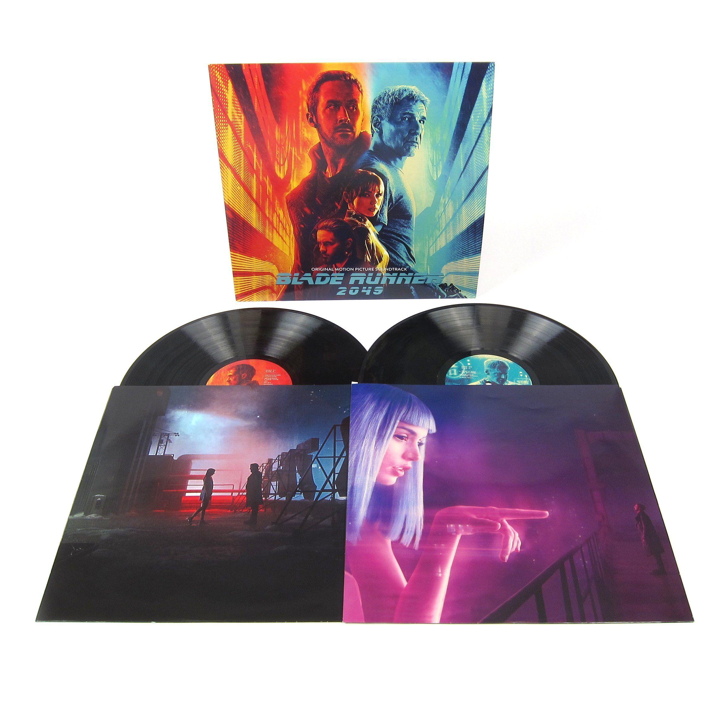 Hans Zimmer Benjamin Wallfisch Blade Runner 2049 Soundtrack Vinyl 2lp Blade Runner Blade Runner 2049 Soundtrack Blade Runner 2049
