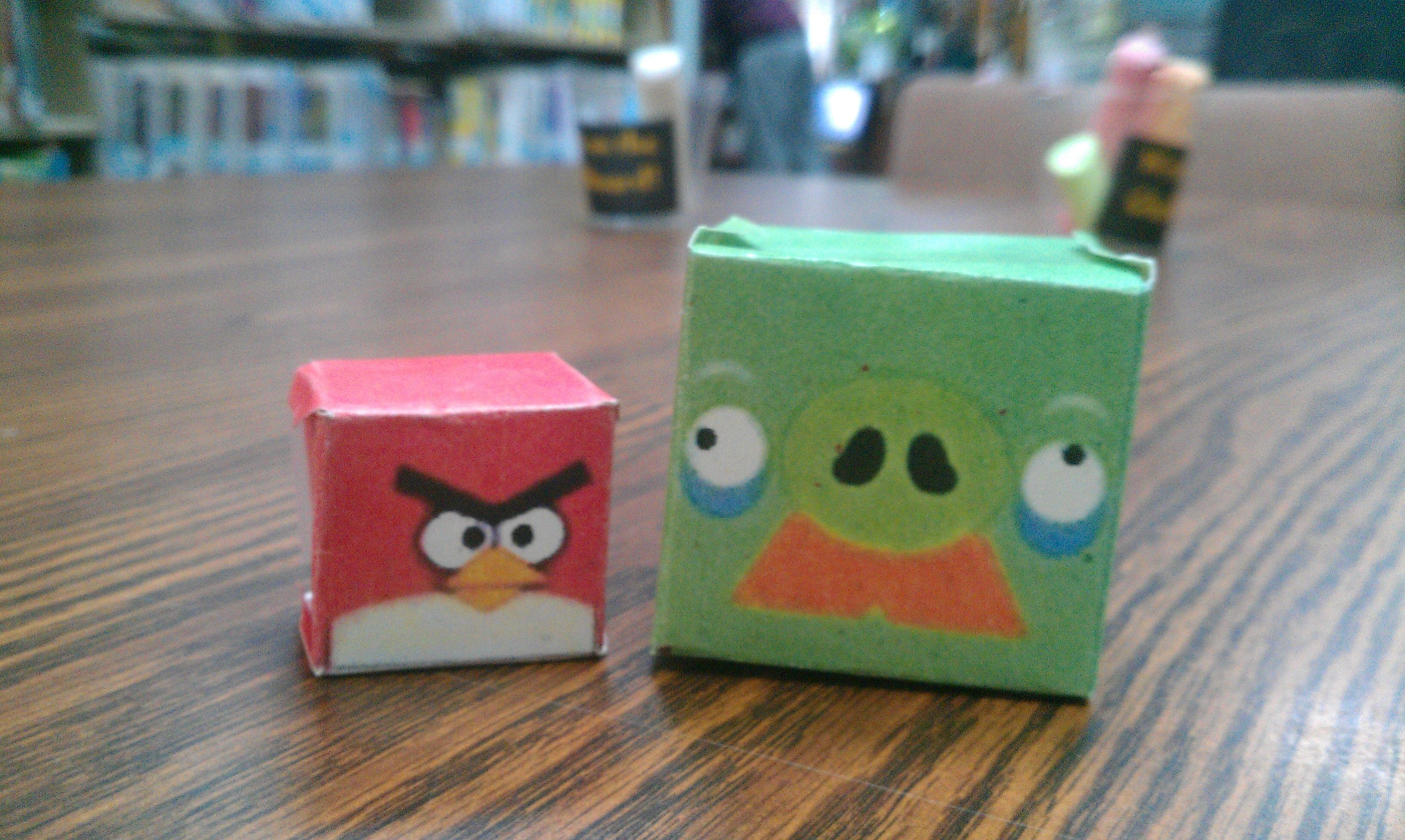 Angry Birds Cubeecraft Done By Teens Pbcl They Also