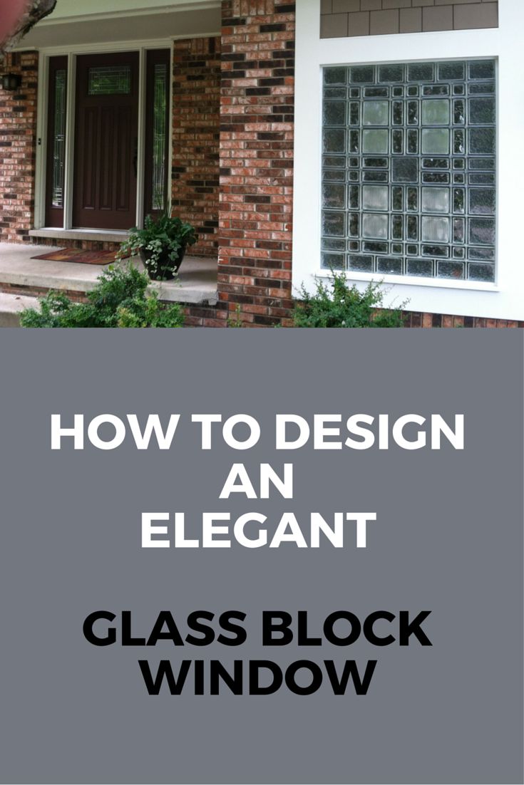 Learn how to design an elegant glass block window - whether it\u0027s for a bathroom basement garage or anywhere around the house. Click through to learn more. & Can a garage window be architectural and elegant? | Pinterest ...