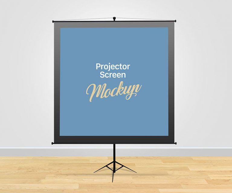 Free Meeting Projector Screen Mockup In Psd Meeting Projector Screen Mockup Psd Projector Screen Projector Media Room Design