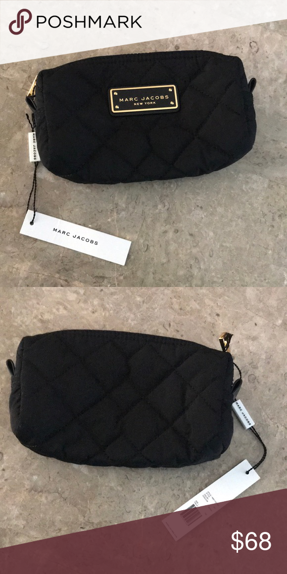6ed13b11a6f1 Marc Jacobs Nylon Quilted Makeup Cosmetic Bag Marc Jacobs Nylon Quilted  Makeup Cosmetic Bag