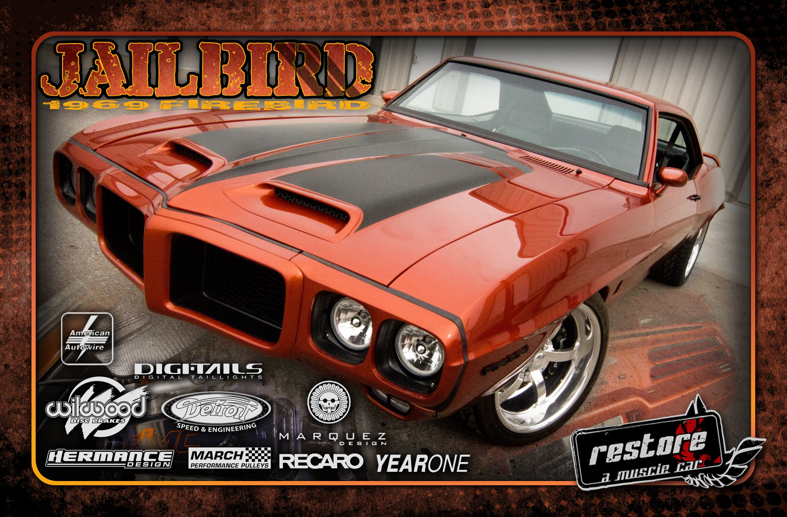 69 firebird by restore a muscle car ready for sema