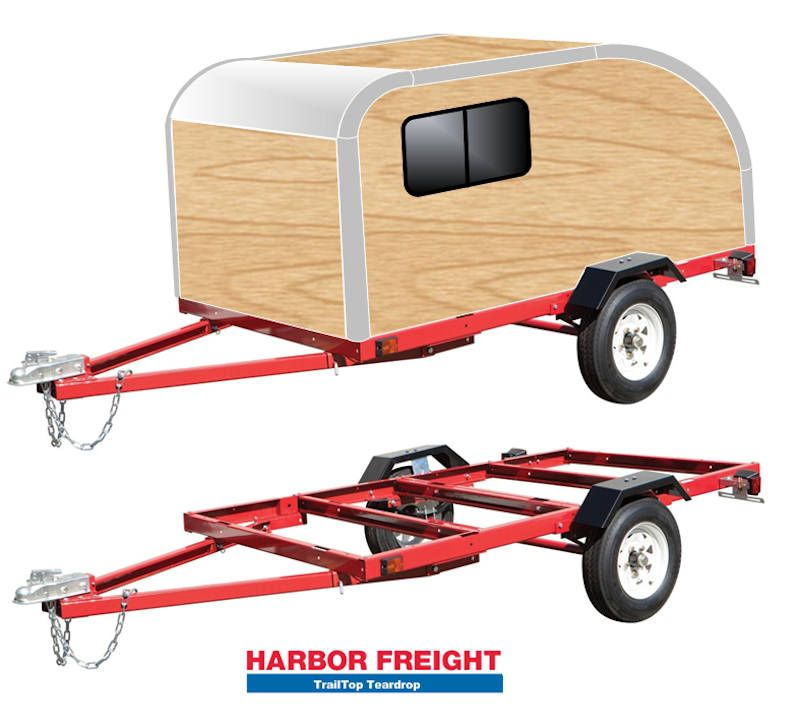 Trailtop Modular Trailer Topper Building Components Expedition
