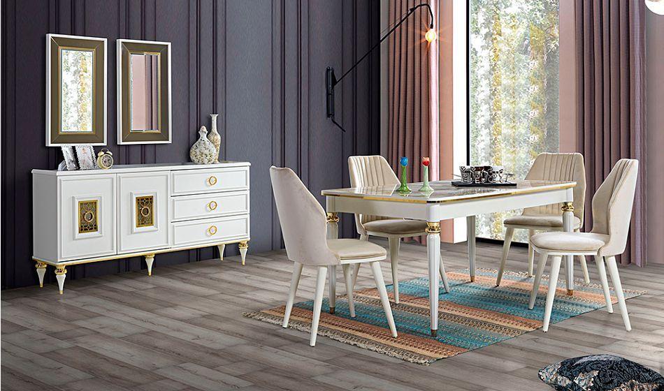galata aytasi yemek odasi teshir mobilya yemek masasi yemek odasi
