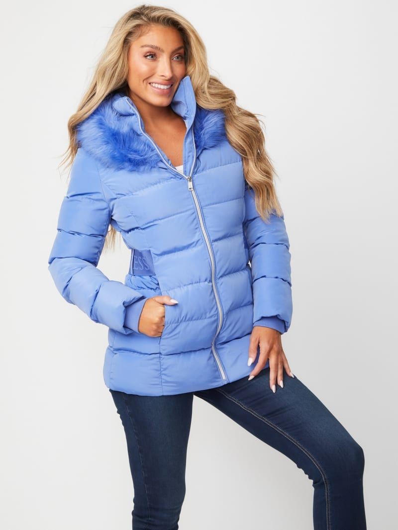 Delice Hooded Puffer Jacket Puffer Jackets Jackets Fashion [ 1066 x 800 Pixel ]
