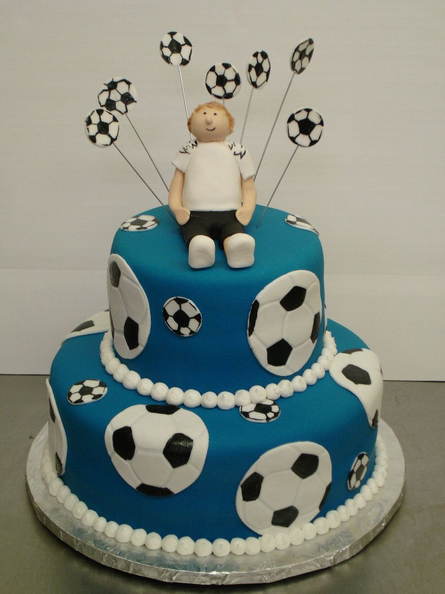 Pin by Anna Sver on 10th bday Pinterest Soccer cake Cake and