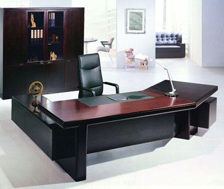Bureau De Direction Classique En Cuir Et Bois A127 Bigao Furniture