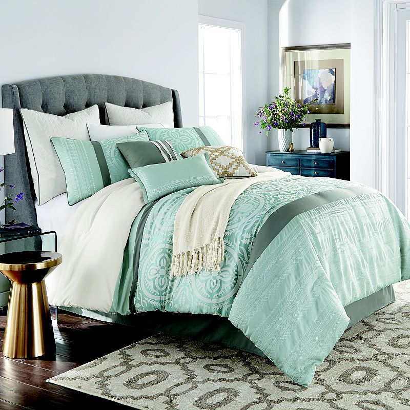 Jcpenney Home Mayer 10 Pc Jacquard Comforter Set In 2019