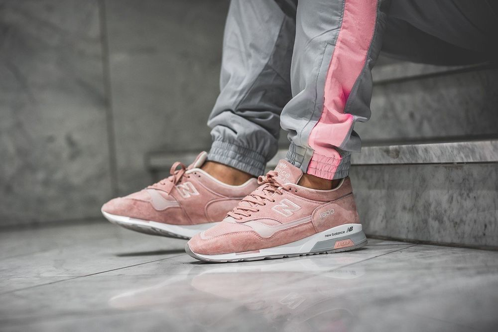 separation shoes 949df 7aa19 New Balance 1500 - Made In England Pink & Grey Trainers All ...
