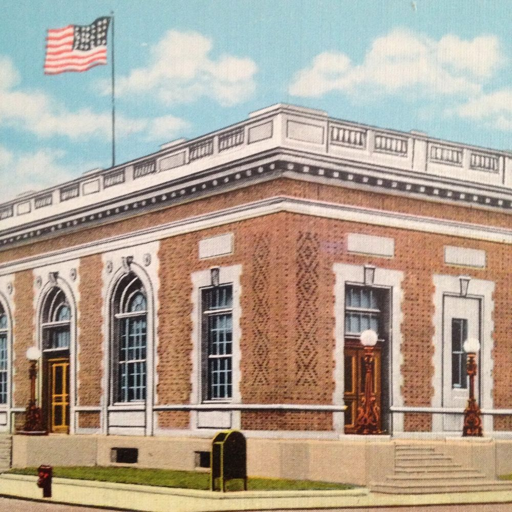 Post Office In Rochester, New Hampshire.