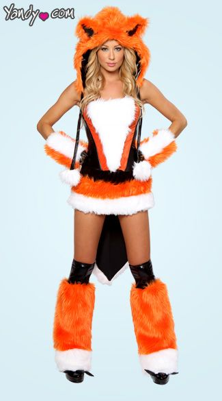 55b03cb8577 Sexy Fox Costume   Reason for the season   Fox costume, Fox ...