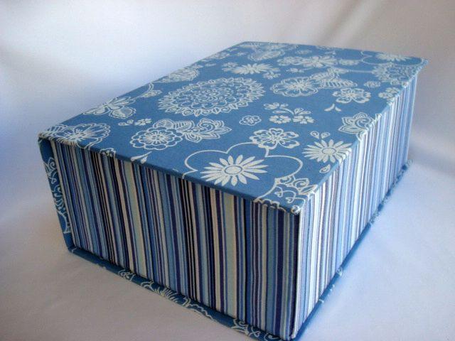 Caixa Francesa - Azul  www.munayartes.com