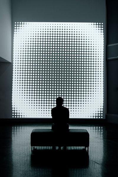 Plenum - computer generated high definition projection | lighting . Beleuchtung . luminaires | Design: Simeon Nelson | #lightartinstallation