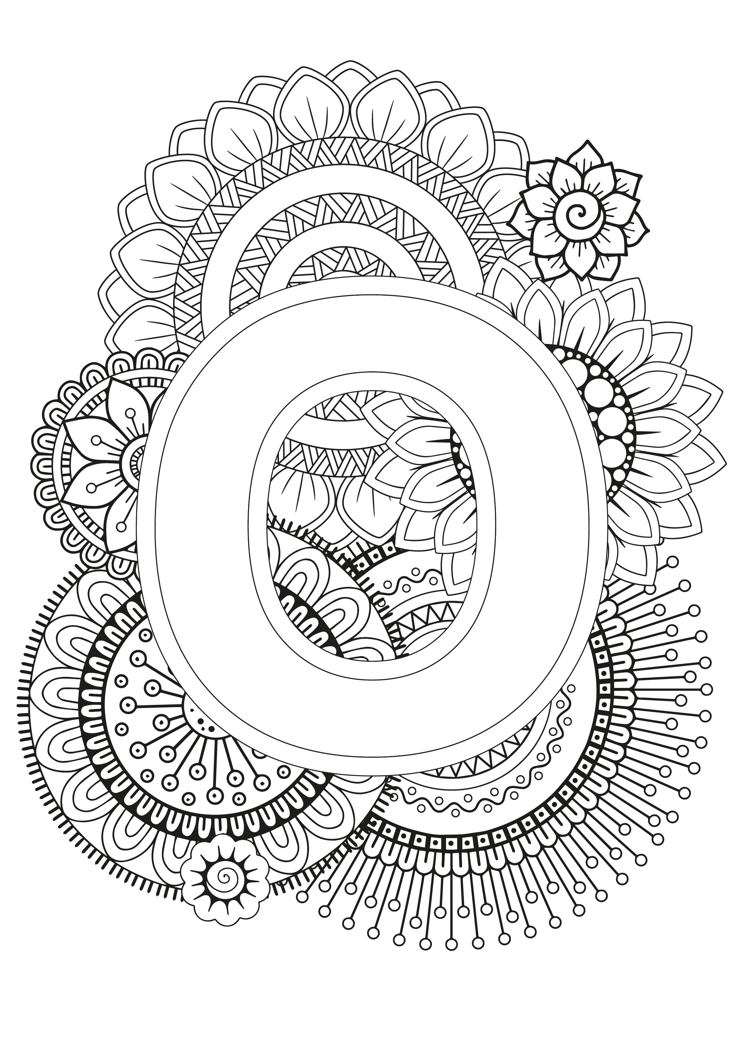 Mindfulness Coloring Page Alphabet Coloring Pages Love Coloring Pages Designs Coloring Books