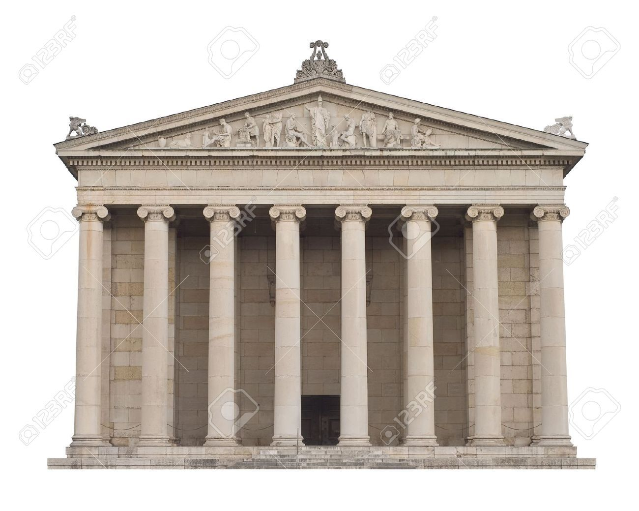 5816733 classical greek architecture in the italian style
