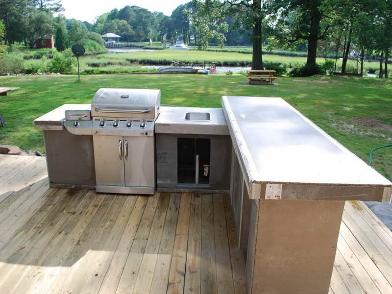 Waterproof Countertop Materials : Best Outdoor Kitchen Countertop Material Sarkem