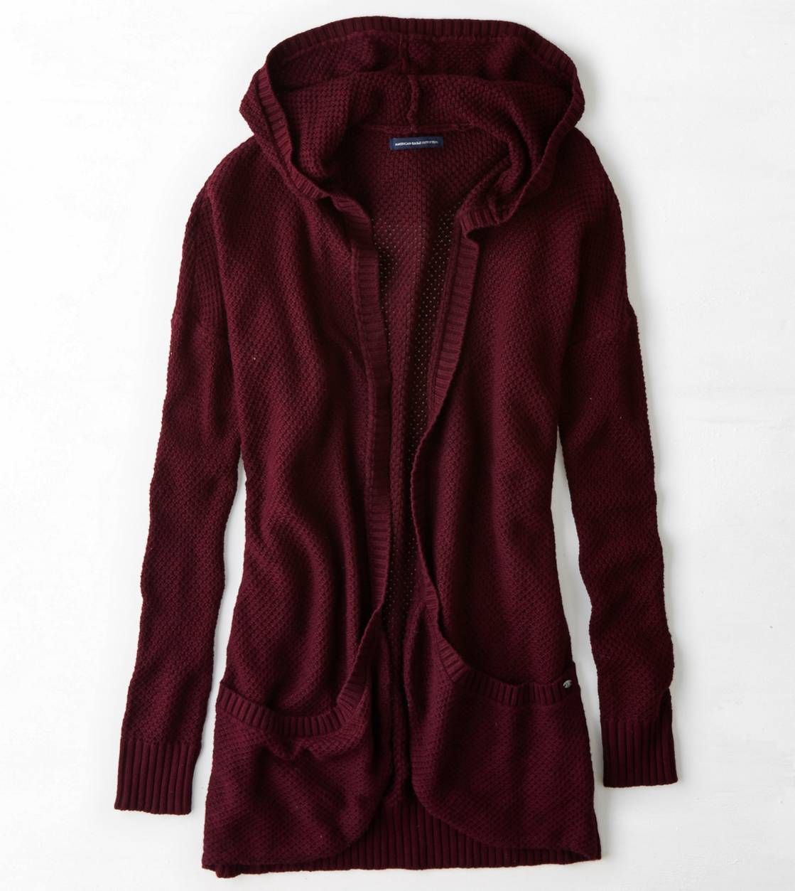 AEO Plush Hooded Cardigan | Hooded cardigan, Aeo and Casual wear