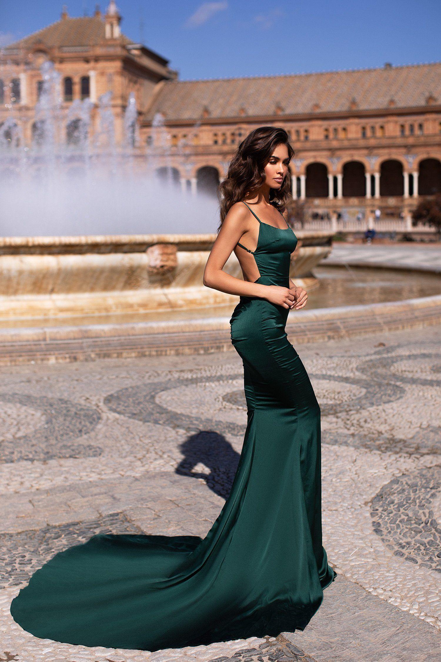 Delara Emerald Girls Formal Dresses Dresses Evening Gowns Formal [ 2249 x 1500 Pixel ]