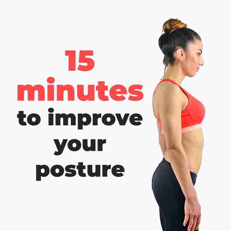 Improving your posture is paramount to maintaining a healthy body and improving your overall strengt...