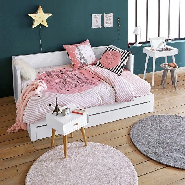 Funda De Almohada Paris For Ever Selene Gaia Kid Room Style Cont