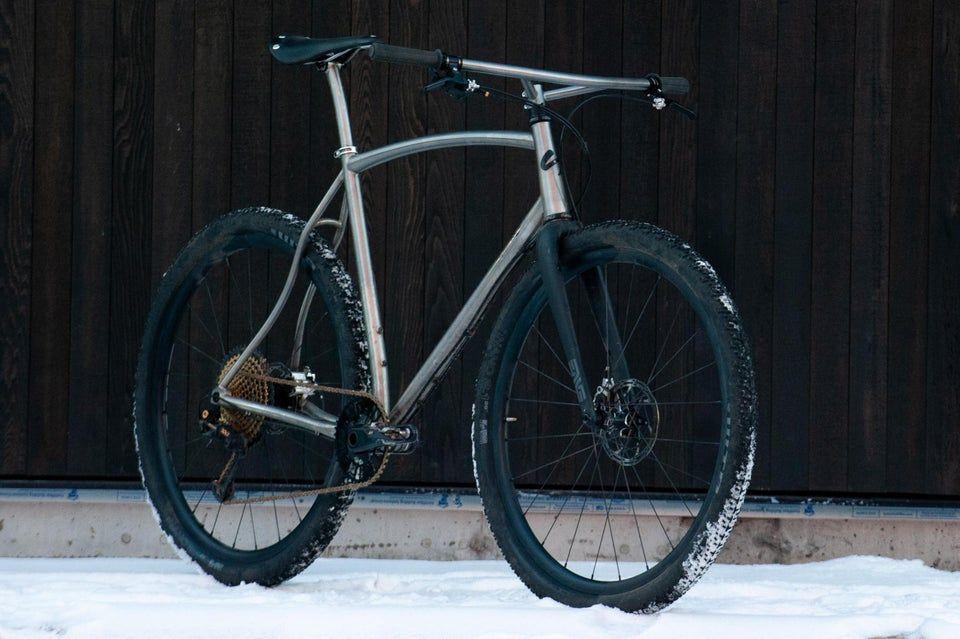 My Sklar Hybrid A Titanium Bike For All Aroundering