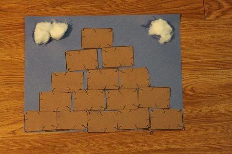 Image result for Tower of Babel craft   Sunday school craft   Pinterest