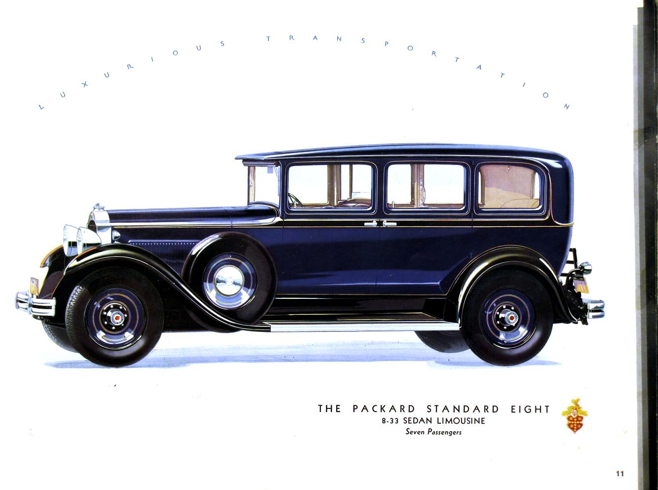 1931 packard standard eight 8 33 sedan limousine