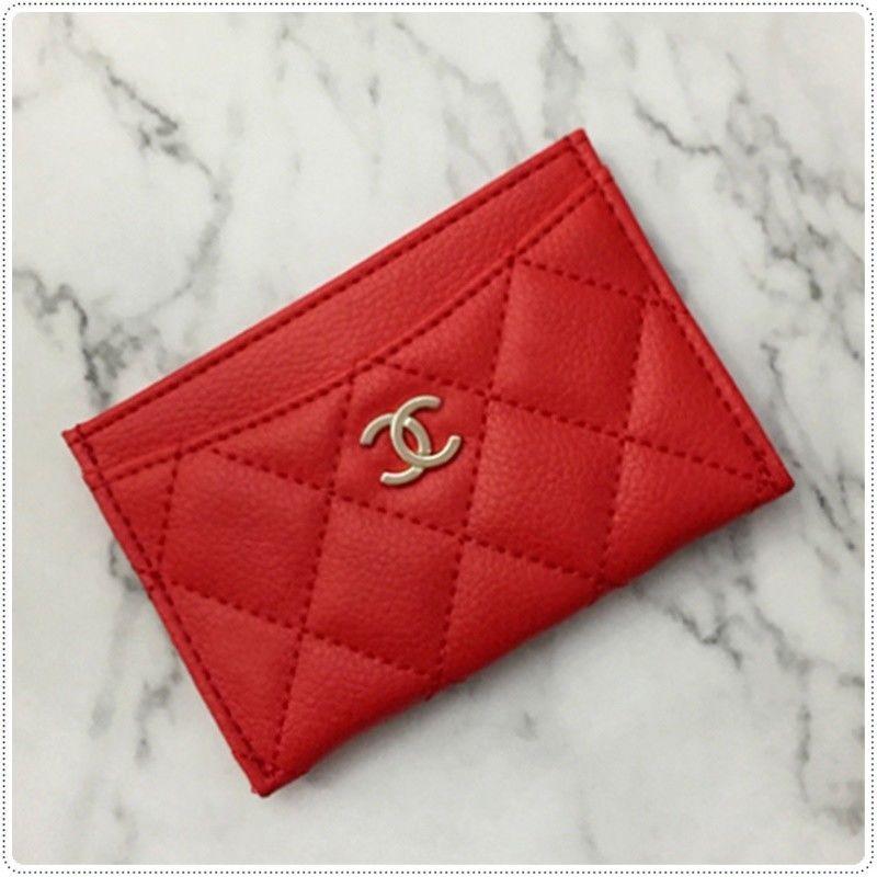 Chanel beaute vip gift credit card holder matt synthetic