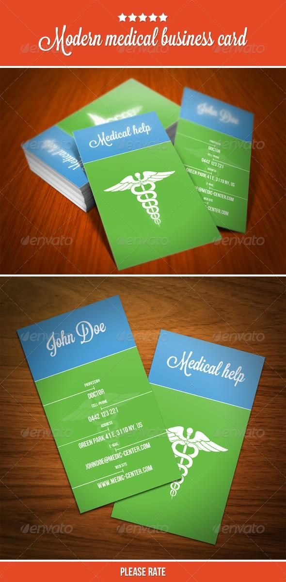 Medical Business Card  Business Cards And Business