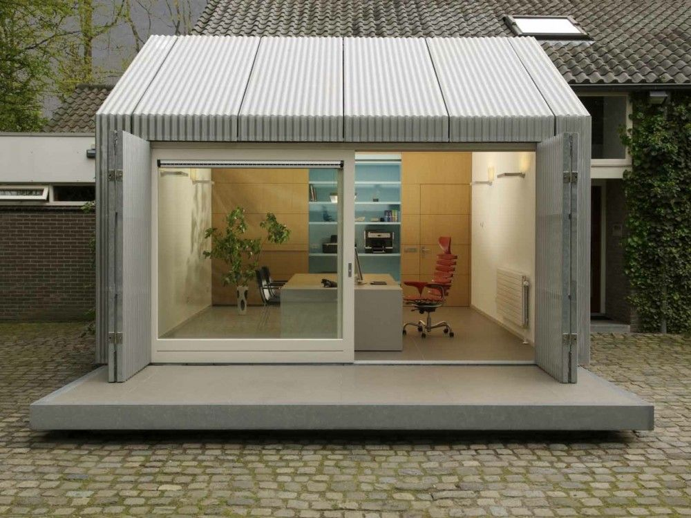 Home Office Space Architecten En En Garage Conversion Home Office Space Garage Decor