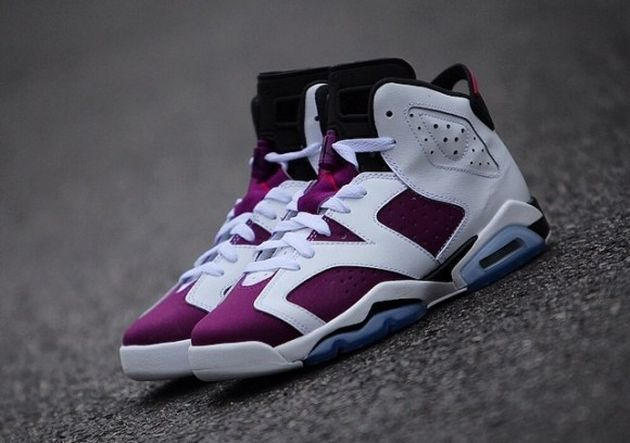 Trendy Women's Sneakers 2017/ 2018 : Air Jordan VI GS – Bright Grape -  Fashion Inspire | Fashion inspiration Magazine, beauty ideaas, luxury, ...